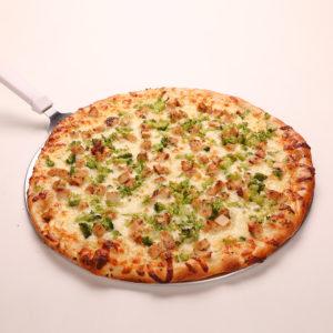 White Pizza w/Chicken, Broccoli & Garlic
